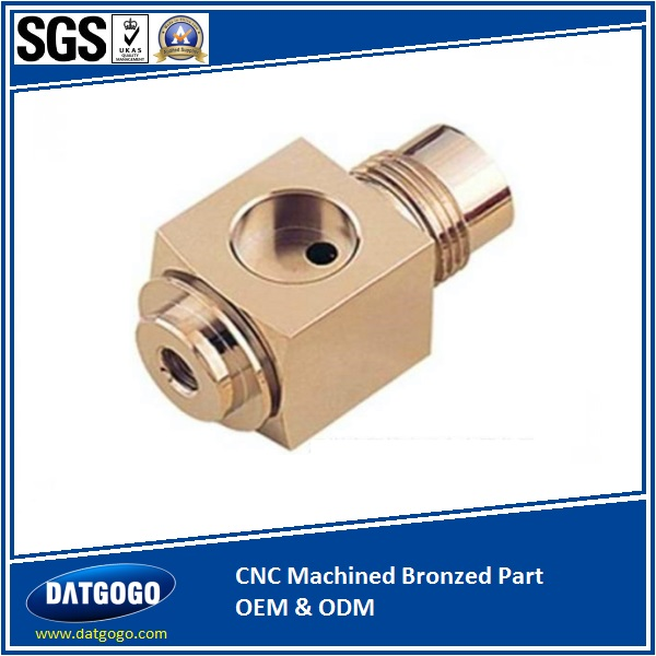 CNC Machined Bronzed Part OEM & ODM