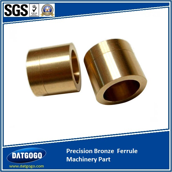 Precision Bronze  Ferrule Machinery Part