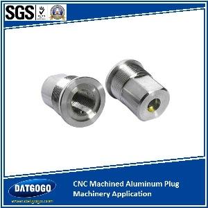 CNC Machined Aluminum Plug Machinery Application