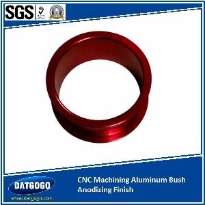 CNC Machining Aluminum Bush Anodizing Finish