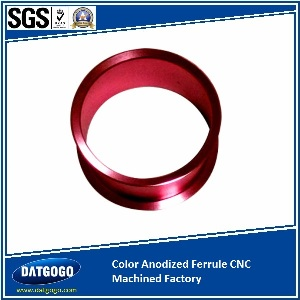 Color Anodized Ferrule CNC Machined Factory