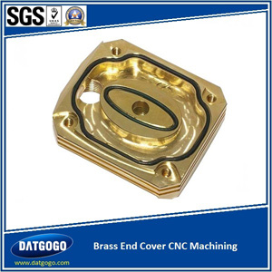 Brass End Cover CNC Machining