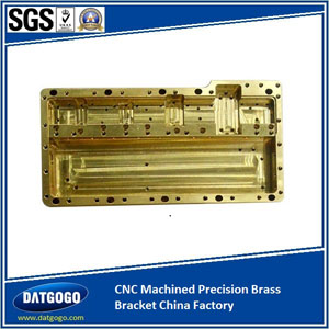 CNC Machined Precision Brass Bracket China Factory
