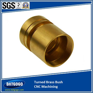 Turned Brass Bush CNC Machining