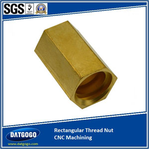 Rectangular Thread Nut CNC Machining