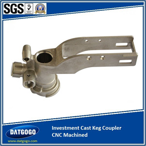 Investment Cast Keg Coupler CNC Machined