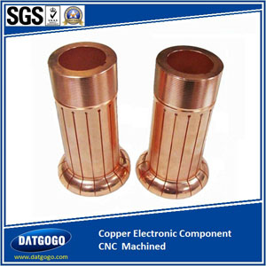 Copper Electronic Component CNC  Machined