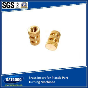 Brass Insert for Plastic Part Turning Machined