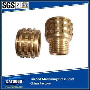 Turned Machining Brass Joint China Factory