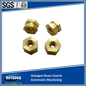 Hexagon Brass Inserts Automatic Machining