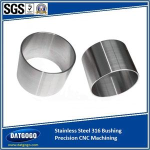 Stainless Steel 316 Bushing Precision CNC Machining