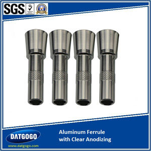 Aluminum Ferrule with Clear Anodizing
