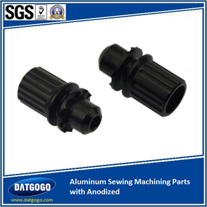 Aluminum Sewing Machining Parts with Anodized