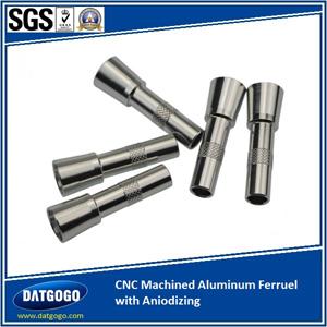 CNC Machined Aluminum Ferruel with Aniodizing