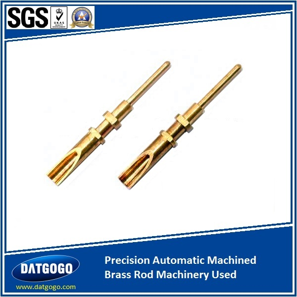 Precision Automatic Machined Brass Rod Machinery Used