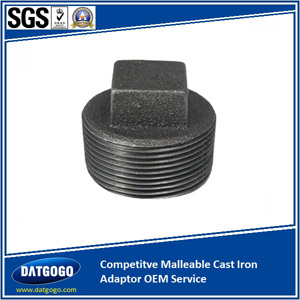 Competitve Malleable Cast Iron Adaptor OEM Service