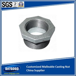 Customized Malleable Casting Nut China Supplier
