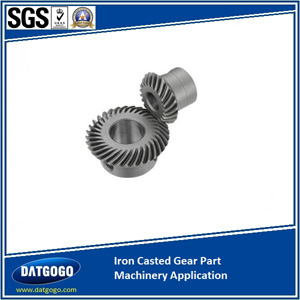 Iron Casted Gear Part Machinery Application