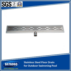 Stainless Steel Floor Drain for Outdoor Swimming Pool