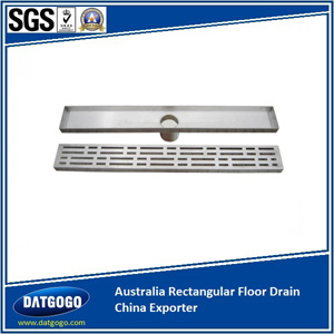 Australia Rectangular Floor Drain China Exporter