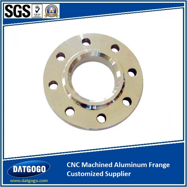 CNC Machined Aluminum Frange Customized Supplier