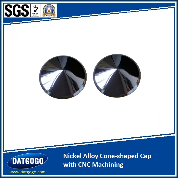 Nickel Alloy Cone-shaped Cap with CNC Machining