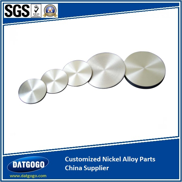 Customized Nickel Alloy Parts China Supplier