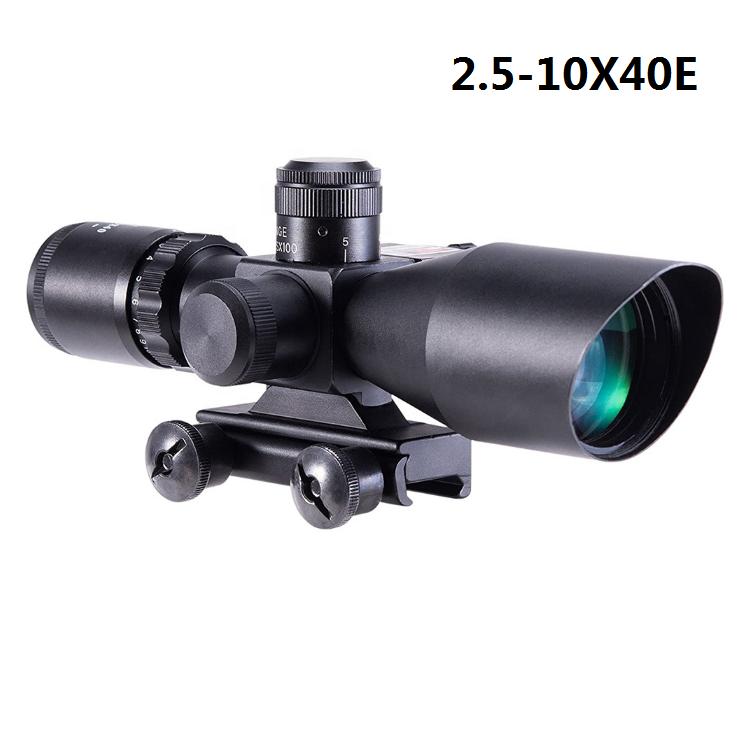 2.5-10X40E rifle scope